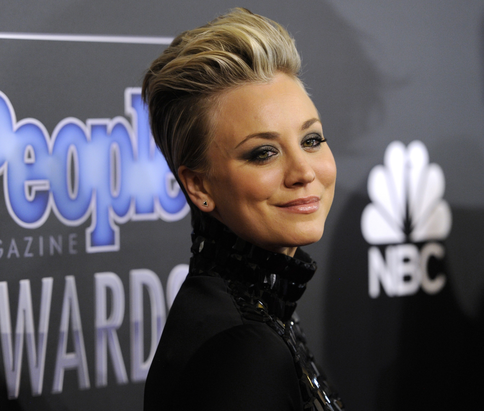 "Kaley Cuoco-Sweeting says she's sorry if people were offended when she told Redbook magazine saying she enjoys ""serving"" her husband Ryan Sweeting."
