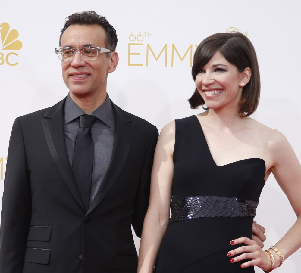 """Fred Armisen and Carrie Brownstein star in the IFC satire series """"Portlandia."""" Season five begins Thursday night."""