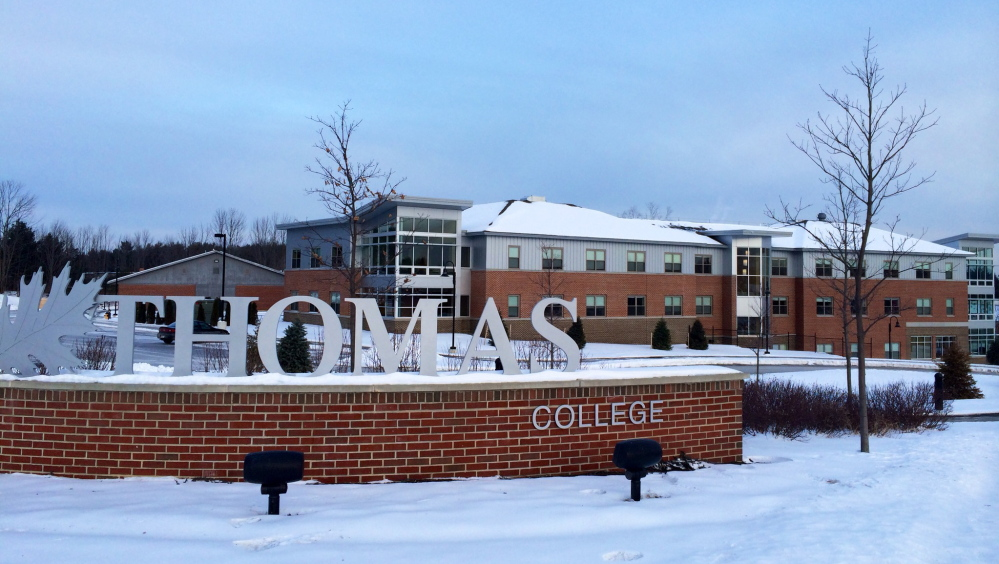 Thomas College in Waterville will no longer require applicants to submit standardized test scores. Admissions officials will look more closely at high school transcripts.