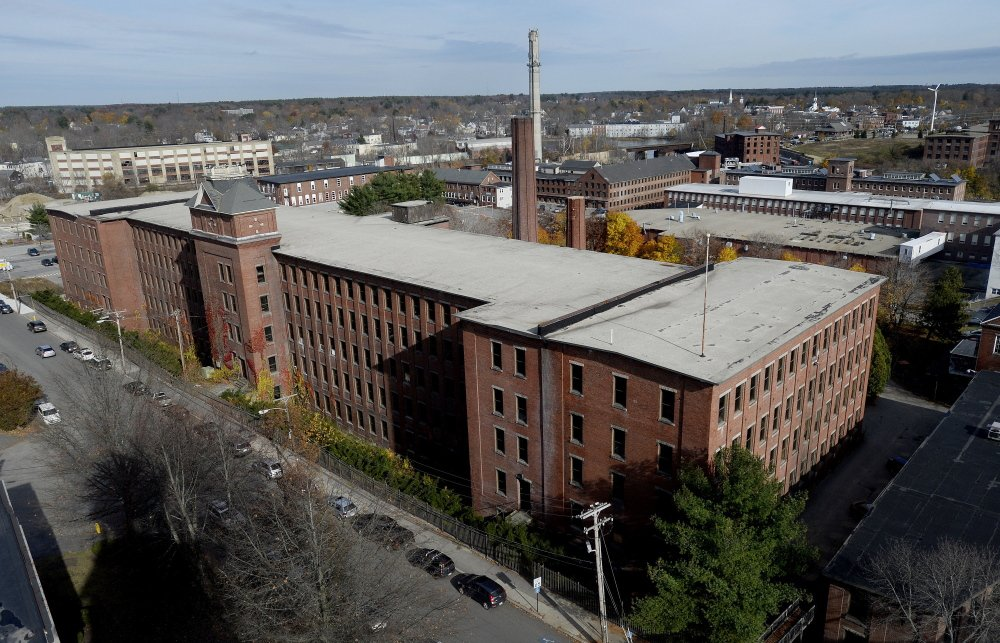 Tim Harrington expects to break ground this spring for the Lincoln Hotel and Lofts at this former textile mill in Biddeford. He said the project will create at least 200 permanent jobs.