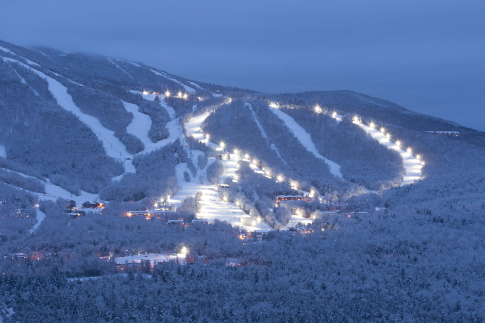 Go to the lights, as night skiing at Sunday River and many other Maine mountains and hills can be more affordable while offering a different thrill. But you're well advised to bring extra layers and to ski with a buddy.