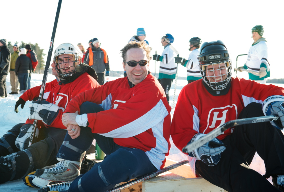 It's a great equalizer – pond hockey, as the game isn't dominated by players who might attract NHL attention. A good time is usually had by all.