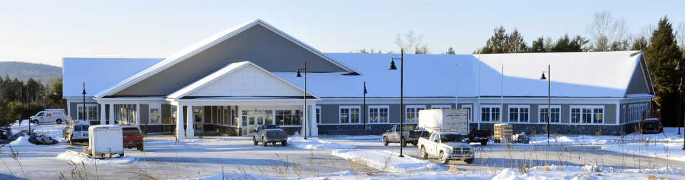 The new Maine Veterans' Homes building is planned to be occupied in mid-February.