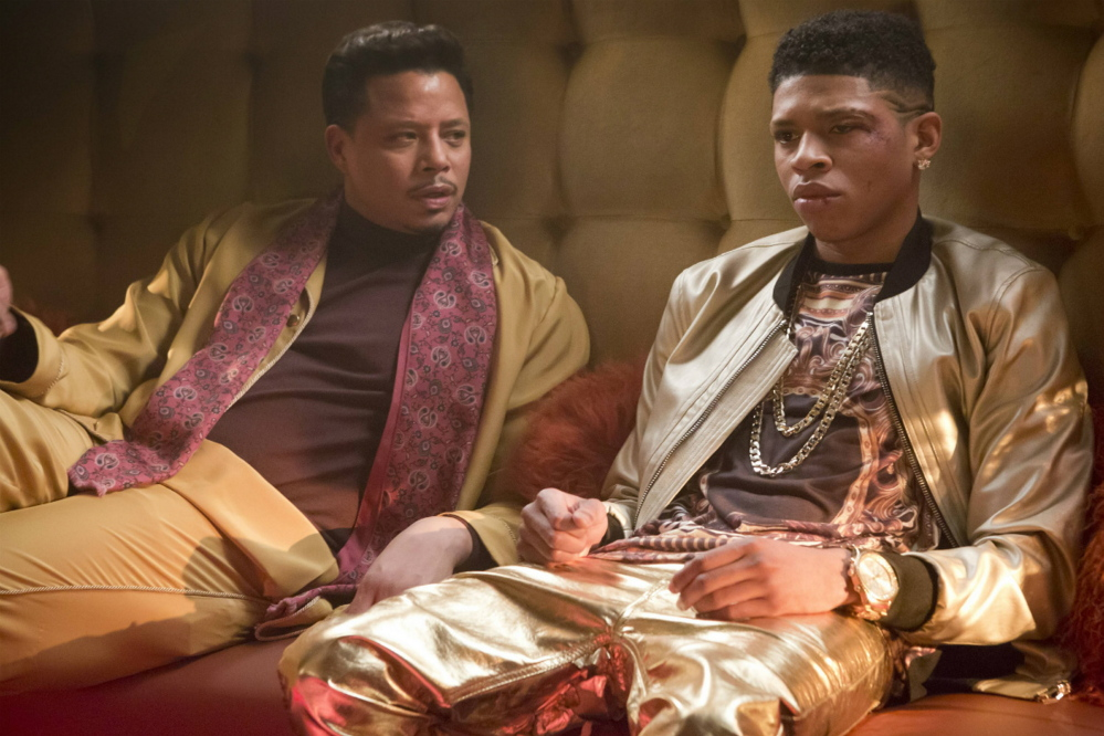 "Terrence Howard, left, and Bryshere Gray in ""Empire."""