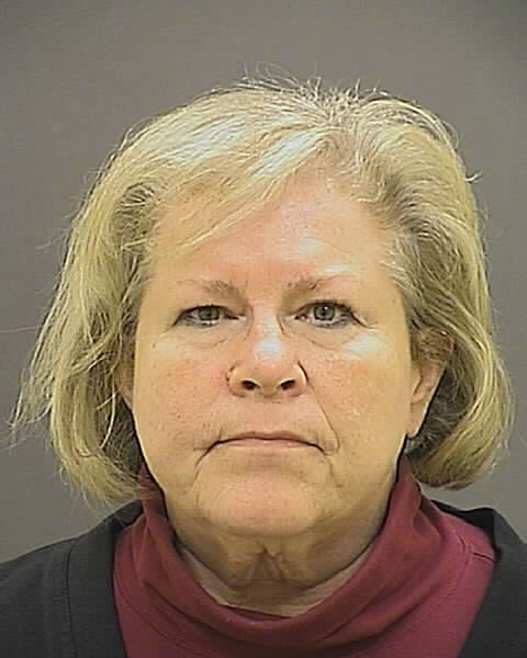 This photo provided by the Baltimore Police Department shows Bishop Heather Cook.  Maryland's second-highest ranking Episcopal leader and the first female bishop in her diocese was charged with drunken driving and manslaughter after fatally striking a cyclist in late December.
