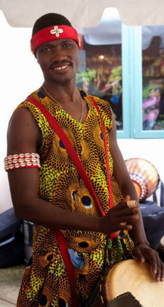 """Master drummer Namory Keita will partner with fellow Guinean performance artist Ismael """"Bonfils"""" Kouyate to offer dance and drum classes Sunday in Portland."""