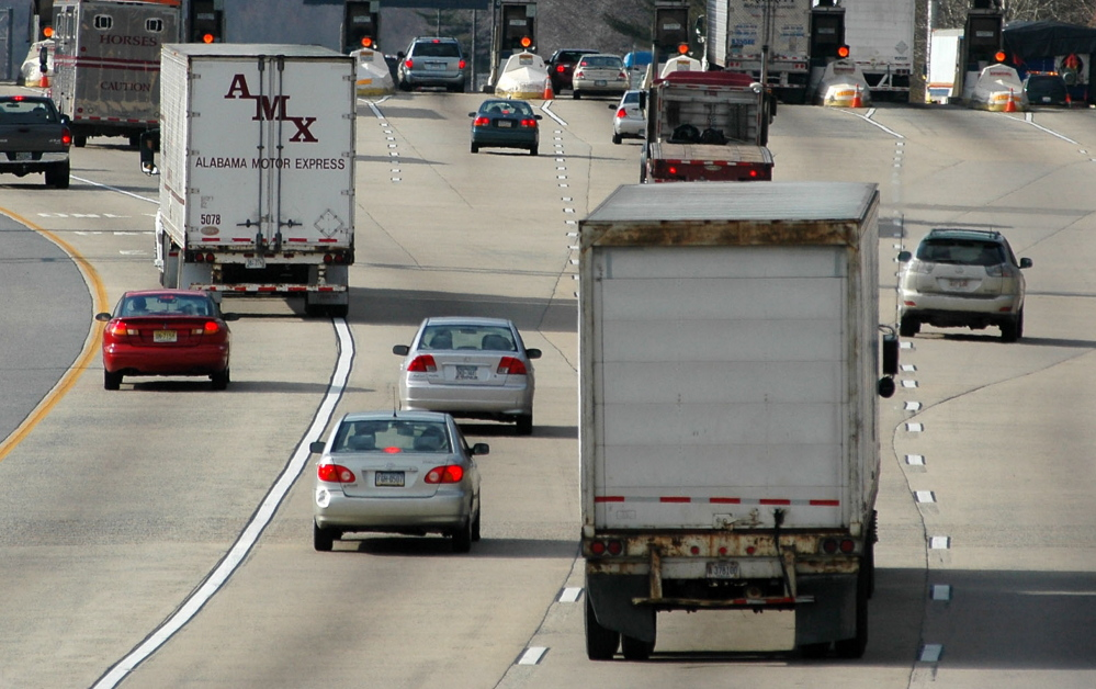The National Transportation Safety Board says deaths due to accidents involving truckers have risen for four years.