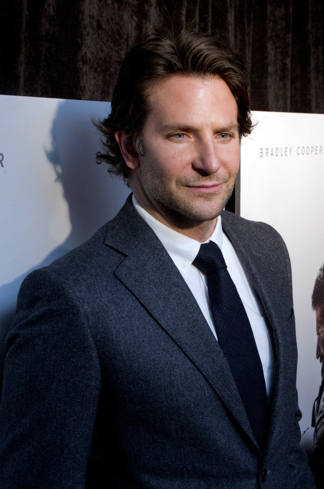 "Bradley Cooper attends the Washington premiere of  ""American Sniper"" at Burke Theatre Tuesday at the U.S. Navy Memorial."