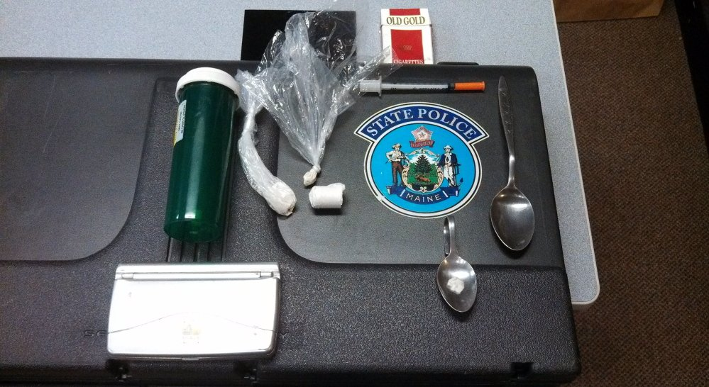 Drug paraphernalia in plain view in a car led to the discovery of heroin during a 2014 traffic stop in West Gardiner. State support for people battling addiction is as critical as funding for drug enforcement.