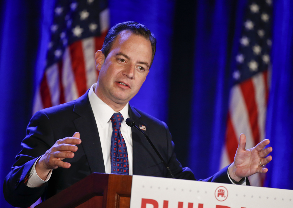 """Republican National Committee Chairman Reince Priebus said of plans for candidate debates during the primary for 2016, """"We're not going to have a circus."""""""
