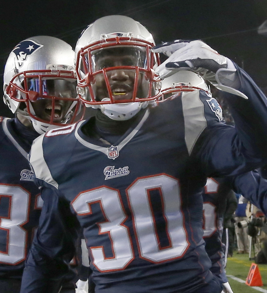 New England Patriots strong safety Duron Harmon