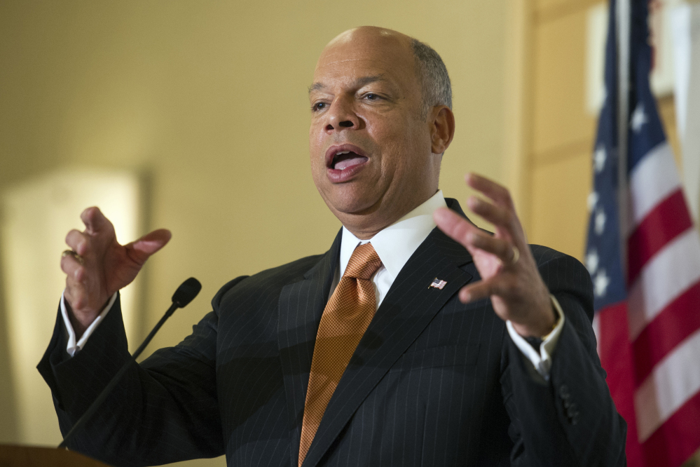 Homeland Security Secretary Jeh Johnson says weaknesses in the visa waiver program will be addressed.