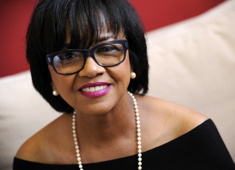 Cheryl Boone Isaacs is the first black president of the Academy of Motion Picture Arts and Sciences.