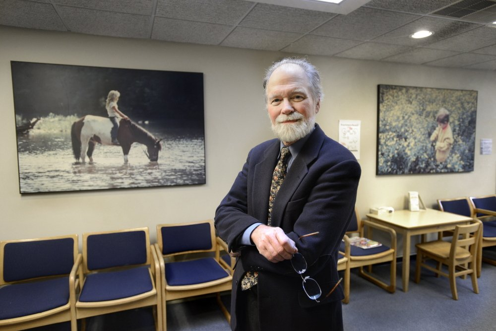 "Dr. William McFarlane, a Maine Medical Center psychiatrist who created the PIER system, spends much of his time traveling around the U.S., teaching others how to implement the model. ""This is very much a Maine product. It's being used all over the country,"" he said."