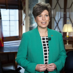 "Senator Joni Ernst of Iowa gave the Republican response to President Obama's State of the Union address on Tuesday, referring to ""failed policies like Obamacare."""