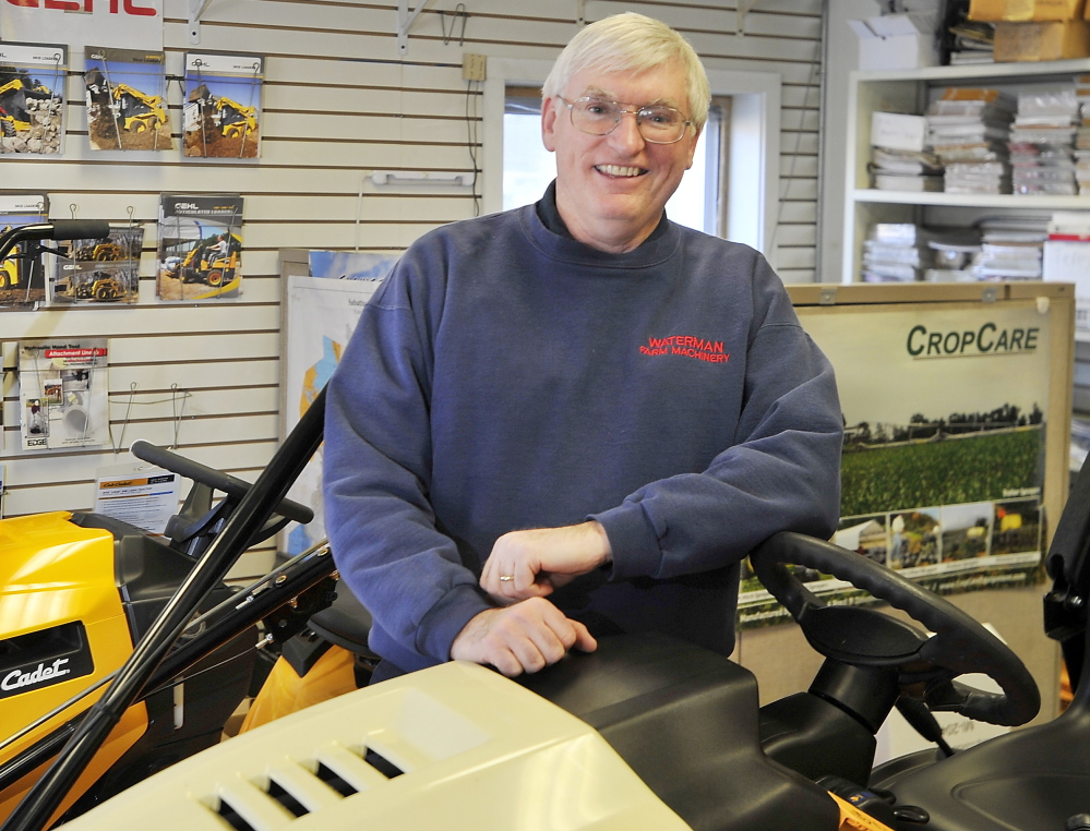 "Bob Waterman is comfortable with the new breed of farmer because, in his view, ""everybody should have a tractor."""