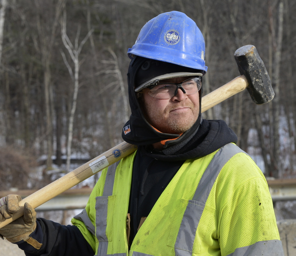 George Sullivan, who worked for MaineWorks while on probation, turned the opportunity into a full-time job with CPM Constructors.