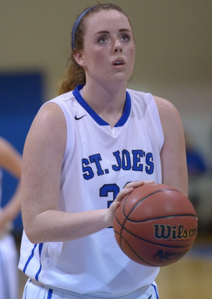 Morgan Cahill became the 22nd player in the St. Joe's women's program to reach 1,000 career points.