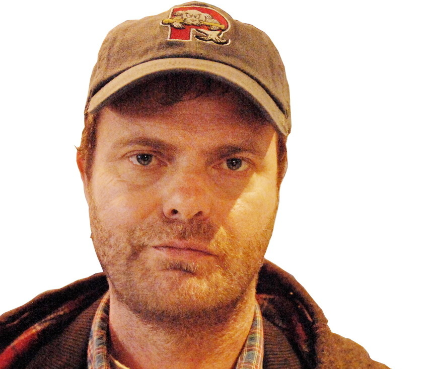 """Actor Rainn Wilson's title character wears a Portland Sea Dogs cap in the pilot episode of the new Fox TV show """"Backstrom,"""" which premiered Thursday night."""