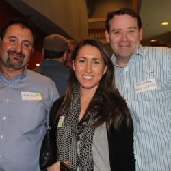 Burak Sezen, left, a health care entrepreneur; Christina Jones, a real estate agent; and Sean Morrissey, a social media strategist.