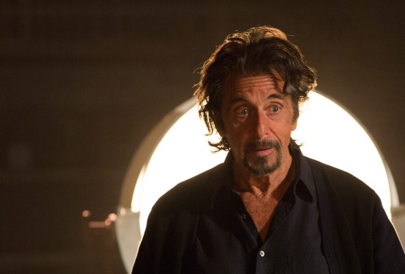 "Al Pacino appears as Simon Axler in ""The Humbling,"" about an aging actor who is questioning his career."