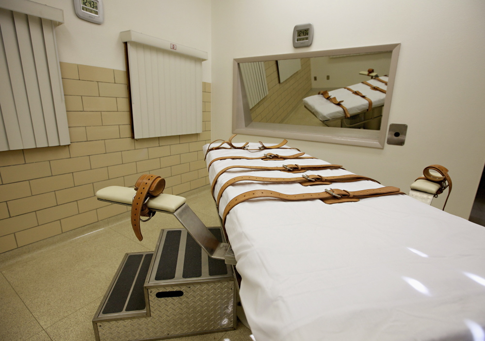 Oklahoma's execution of Clayton Lockett by lethal injection involving midazolam took 43 minutes. Other inmates in Oklahoma are seeking stays of execution.