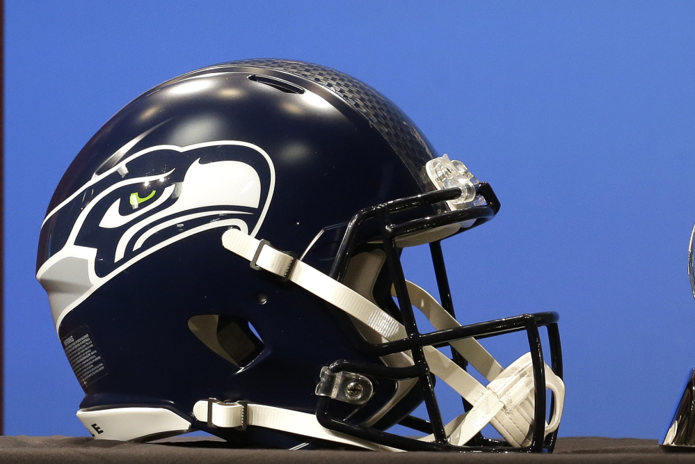 The Seattle Seahawks logo was inspired by a mask from a collection at UMaine.