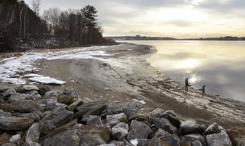 The state is proposing to hire an employee to collect fees for using the state park on Mackworth Island, off Falmouth.