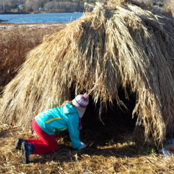 Third-graders at Great Salt Bay School were among the more than 540 students who visited the Damariscotta River Association this past fall to spend a day learning about Wabanaki culture.