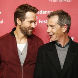 "Actors Ryan Reynolds, left, and Ben Mendelsohn talk about ""Mississippi Grind"" at its premiere at the 2015 Sundance Film Festival this month in Park City, Utah."