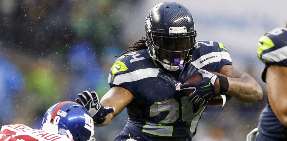 Marshawn Lynch is a talented running back for the Seattle Seahawks whose philosophy of football and life includes … well, we don't really know. When it comes to talking to media, he just doesn't.