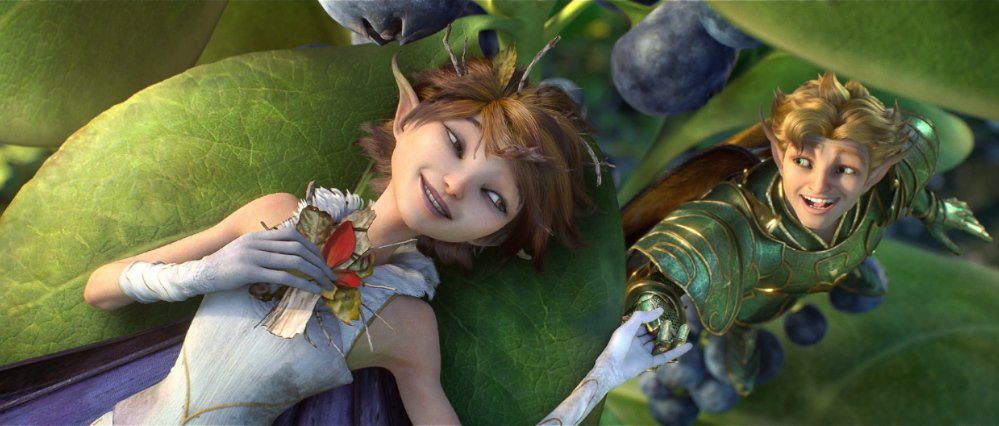 "Marianne, voiced by Evan Rachel Wood, and Roland, voiced by Sam Palladio, in ""Strange Magic."""