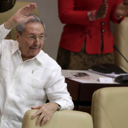 Cuba's President Raul Castro outlines some conditions for re-establishing relations with the United States.