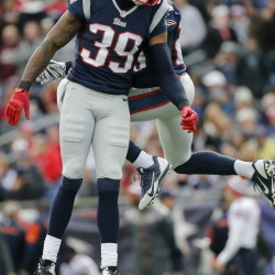 Brandon Browner missed the first six games of the season for the New England Patriots, four with a substance-abuse suspension, but came back to be a force in the defensive backfield.