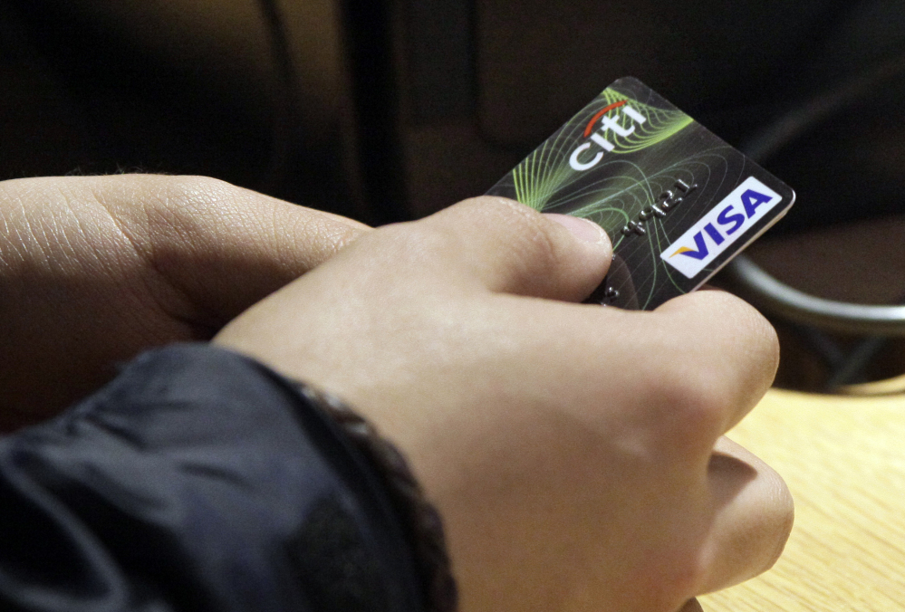 A new study says credit card data can be used to identify the cardholder by analyzing a few transactions.