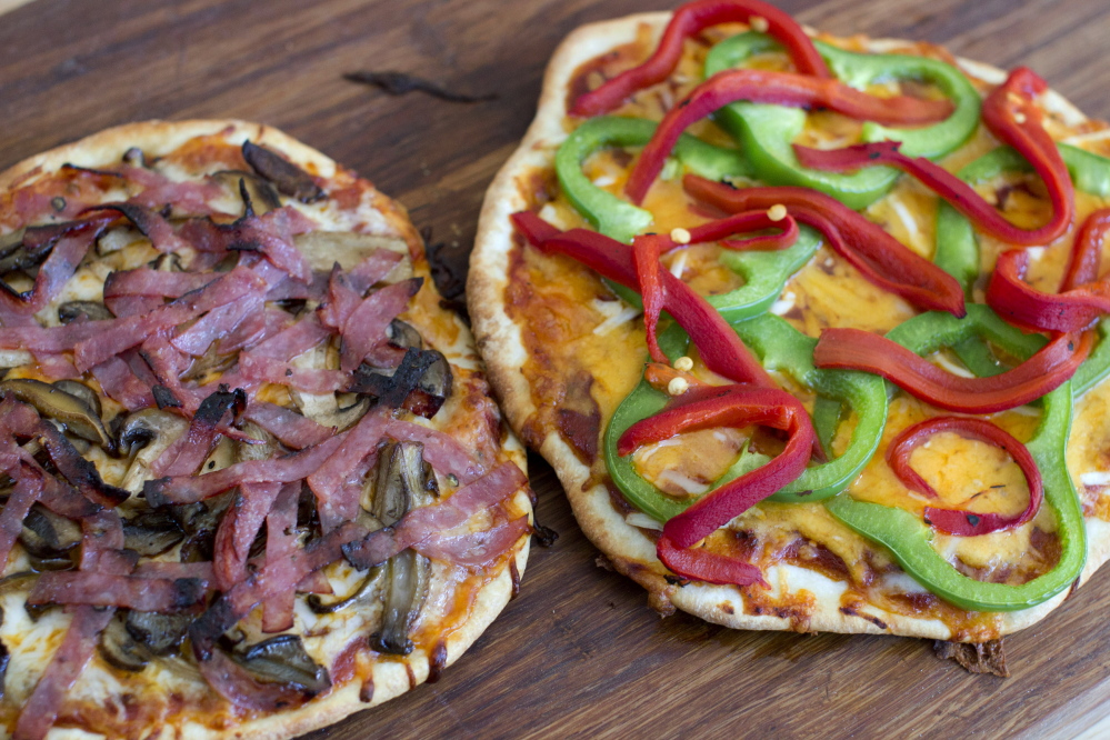Homemade pizza is easier to make than it looks and tastes better than the delivered variety. If you offer a choice of cheeses and other toppings, your Super Bowl party guests can custom-build their own pies.