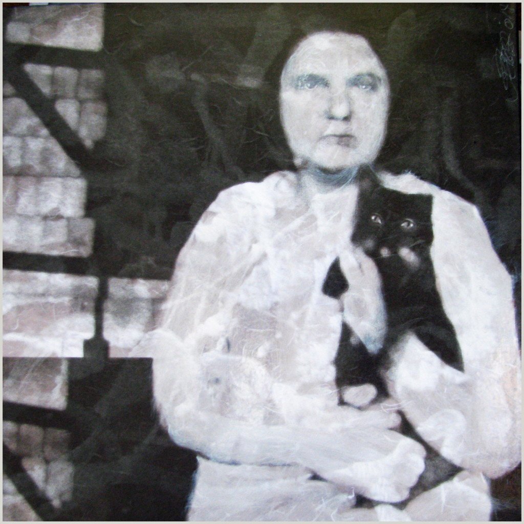 """Cat Woman"" by Petrea Noyes of Lincolnville."
