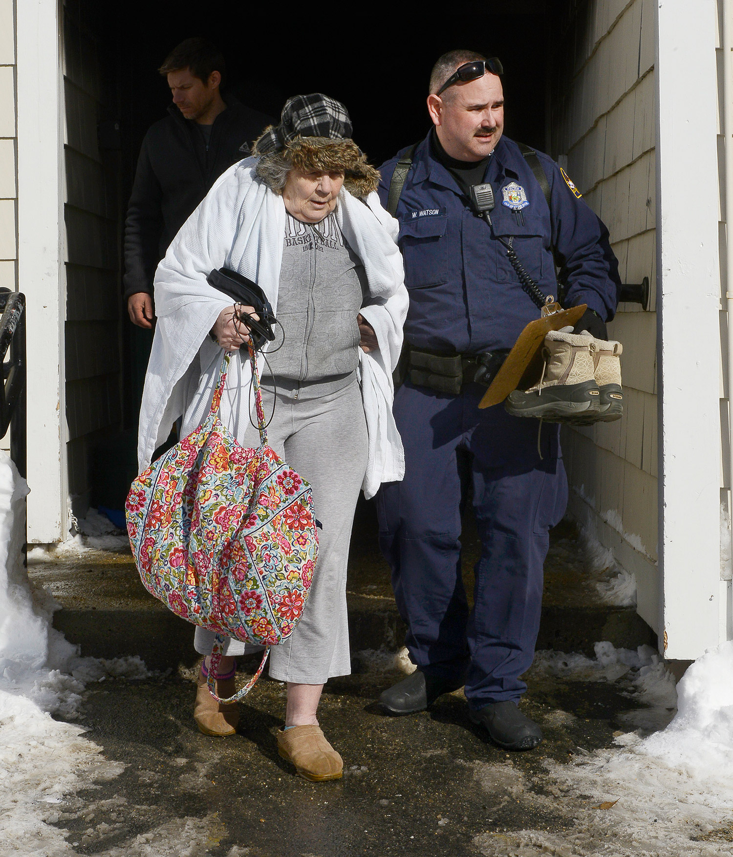 Residents Flee Fire At Old Orchard Beach Apartments