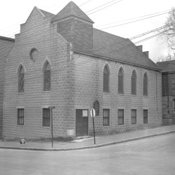 Flashback photo of Zion Church