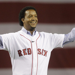 Pedro Martinez will be the ninth player to have his number retired by the Red Sox. AP file photo
