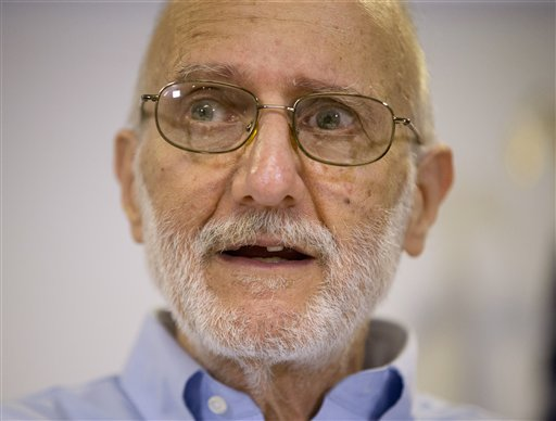 Alan Gross appears at a Dec. 17, 2014, news conference  in Washington after spending five years imprisoned in Cuba. He will have a prime viewing spot for President Barack Obama's State of the Union address: a seat near first lady Michelle Obama.  The Associated Press