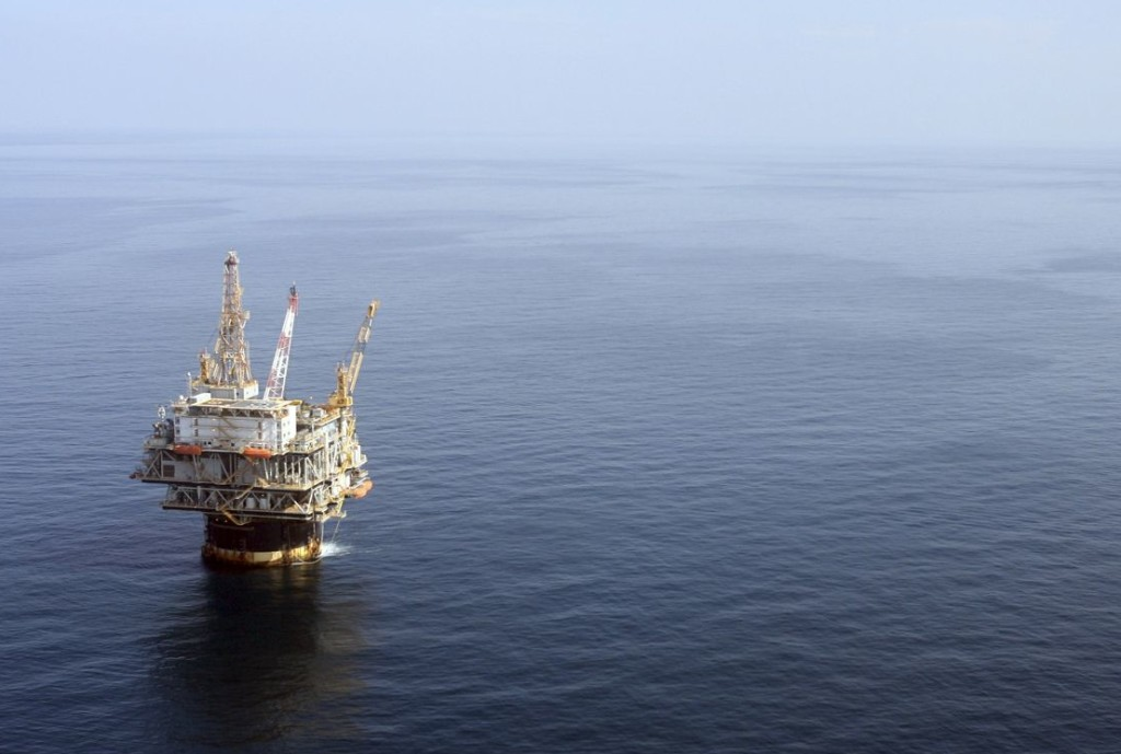 The oil industry applauds Obama's proposal, saying much of the U.S.'s offshore potential remains untapped. Production from offshore wells, like this one in the  Gulf of Mexico near New Orleans, accounts for 16 percent of the oil produced in the U.S. now.