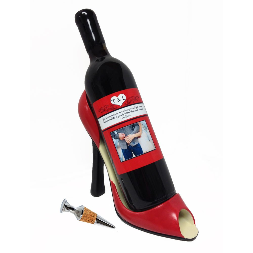 "The High Heel Pump and Wine Set is  ""the perfect gift for any special occasion or wine and shoe lover,"" according to the SkyMall website. It sells for $59.99."
