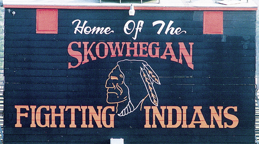 A sign bearing the image of the Skowhegan Area High School logo of an American Indian is considered insensitive to Maine's tribes, and the Greater Bangor area NAACP has sent a letter and petition to school officials asking the logo be changed.
