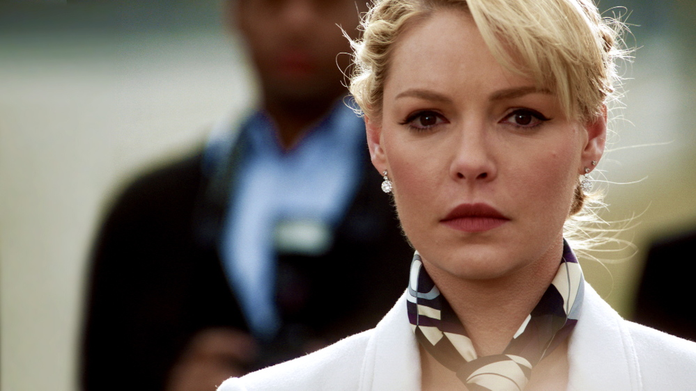 "NBC   Katherine Heigl as CIA analyst Charleston Tucker in ""State of Affairs"""