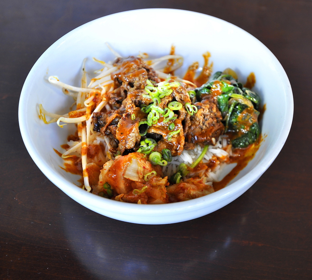 Steak Bulgogi Bowl.