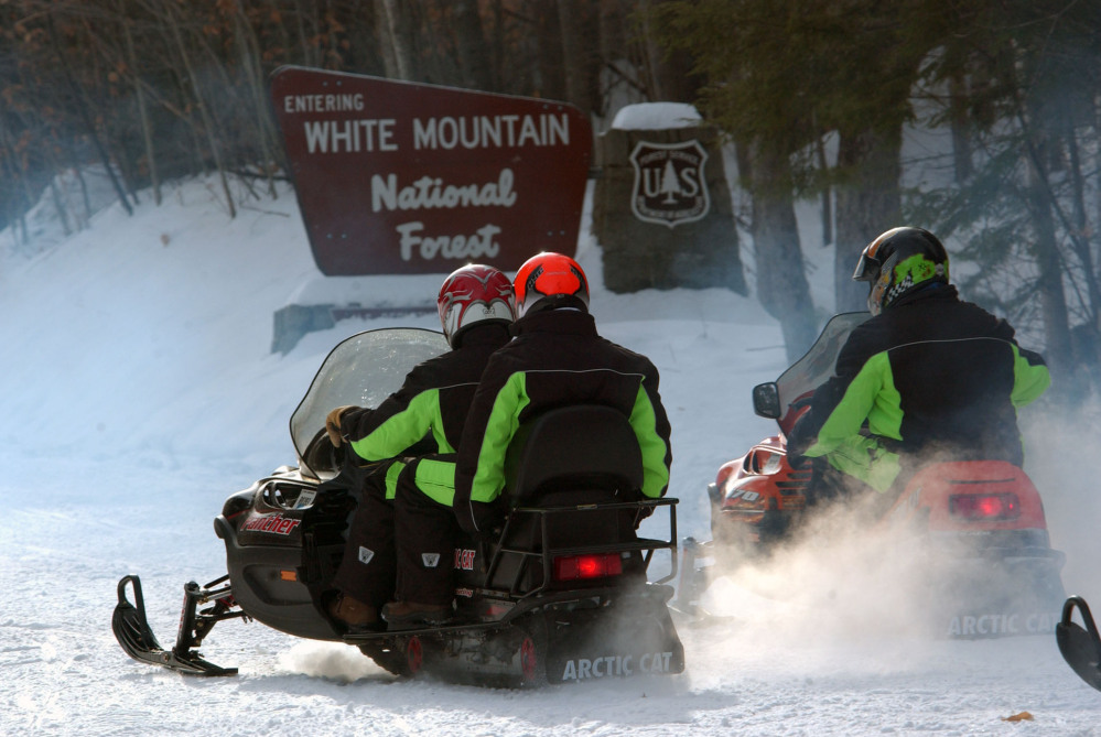 The U.S. Forest Service issued a new policy last week that requires forest managers to limit where snowmobiles can go by specifically designating what areas are open. The new rules applies to all national forests in the U.S.