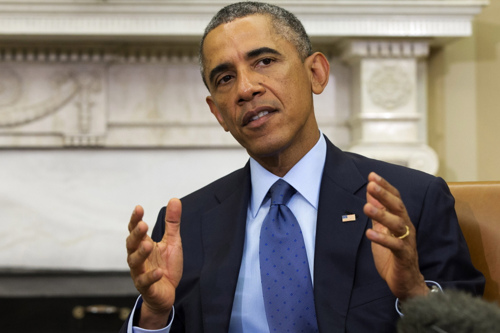 In his radio and Internet address Saturday, President Obama challenged the Republicans now running Congress to help middle-class American families.