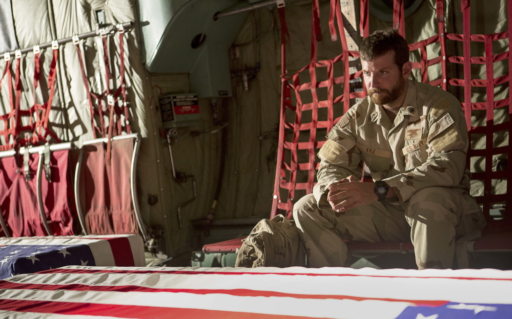 "Bradley Cooper stars in ""American Sniper,"" which surpassed ""Saving Private Ryan"" as the most lucrative war movie."