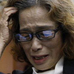 "Junko Ishido, mother of slain Japanese journalist Kenji Goto, said, ""Kenji has left for good. I am lost for words in the face of an extremely sad death."""